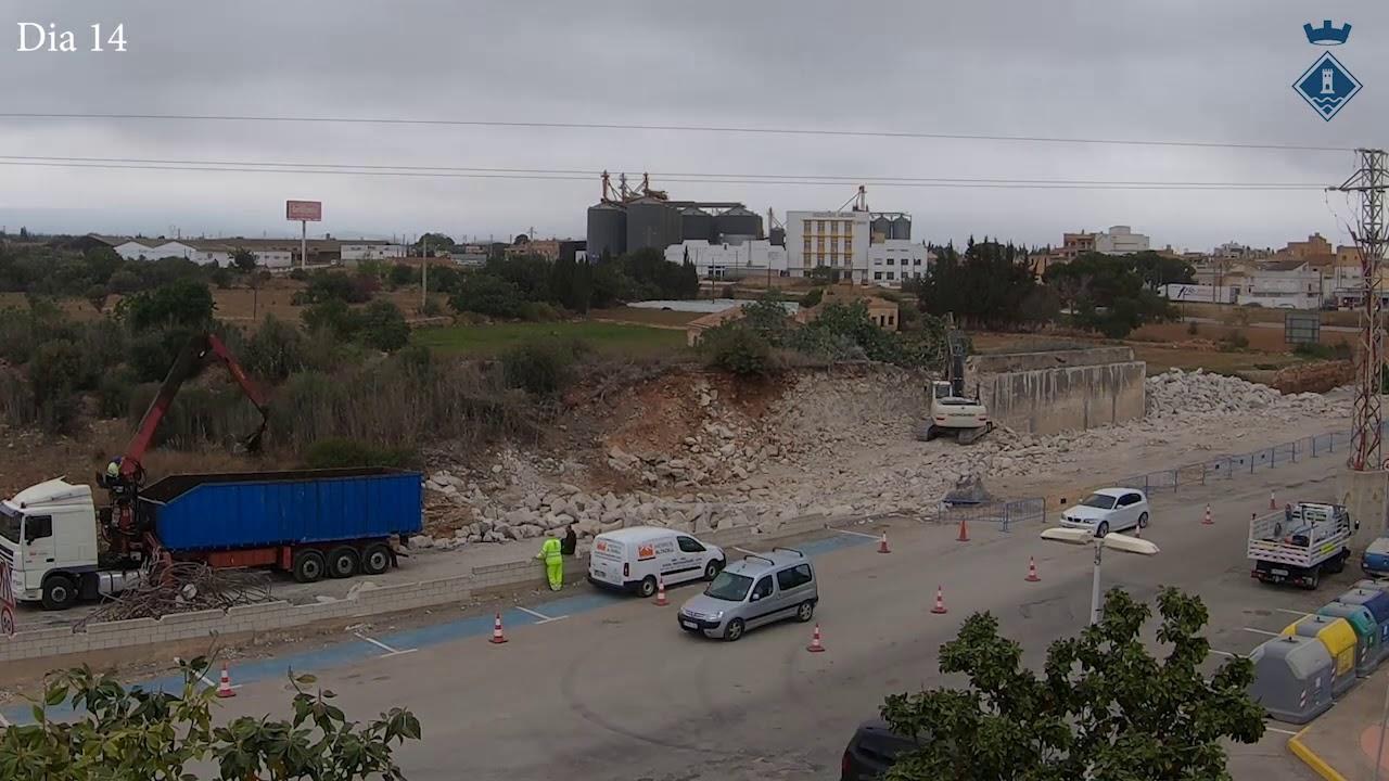 Derribo del Puente y Reconstrucción