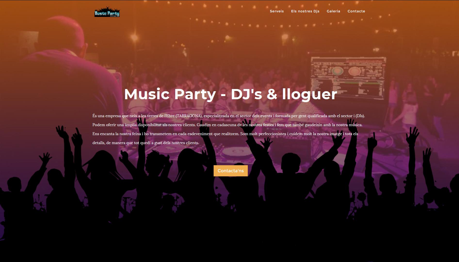 Music Party - Djs & Lloguer