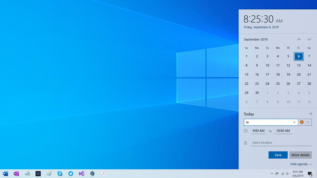 El nombre de la nueva actualización de Windows 10 de noviembre 2019