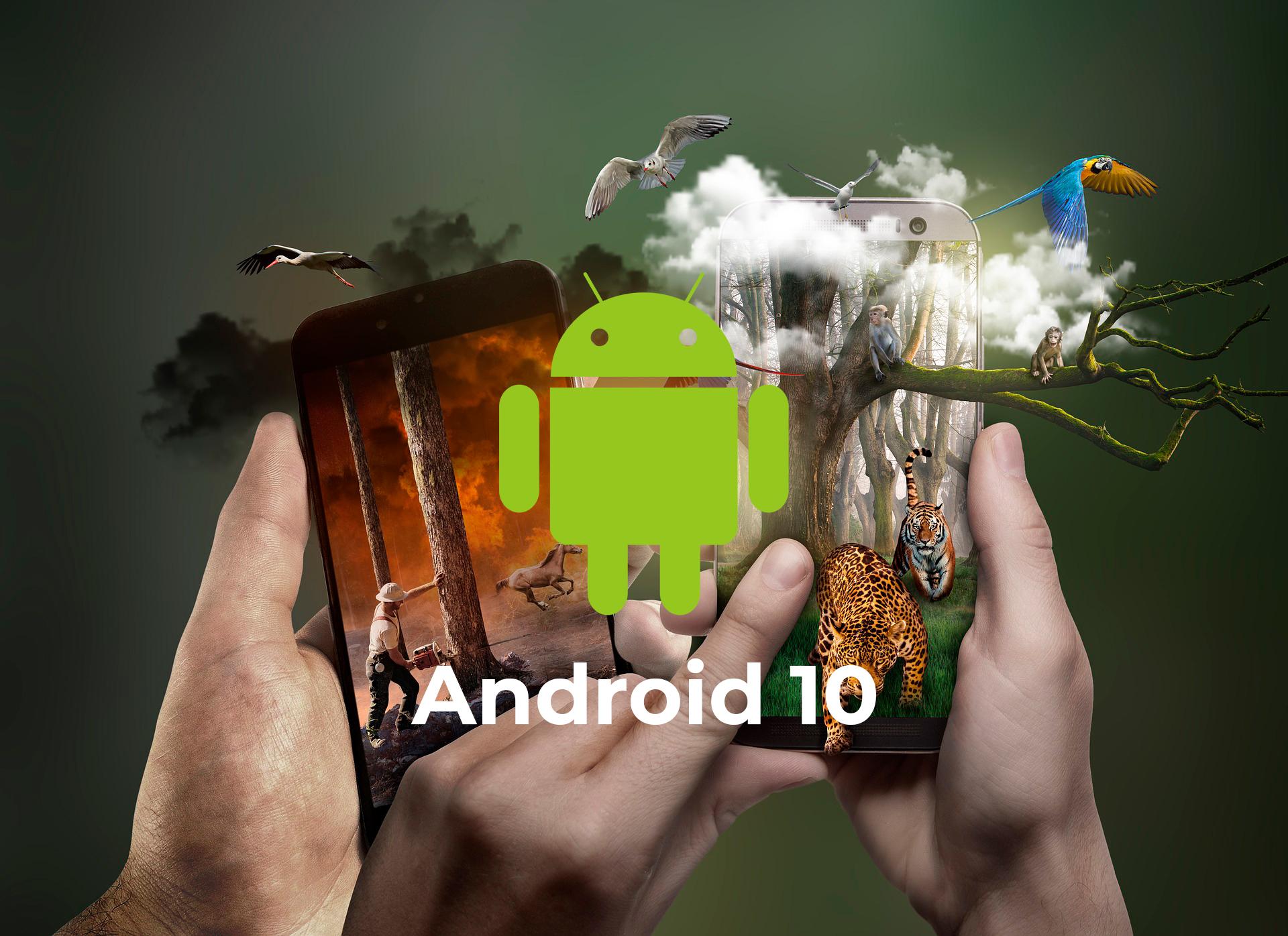 Los móviles que actualizarán a Android 10