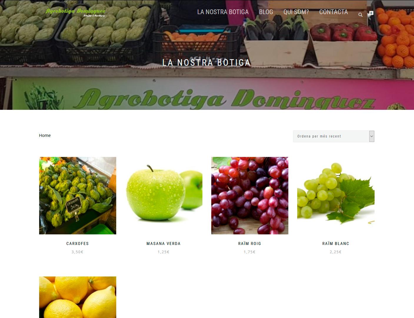 Agrobotiga Domínguez