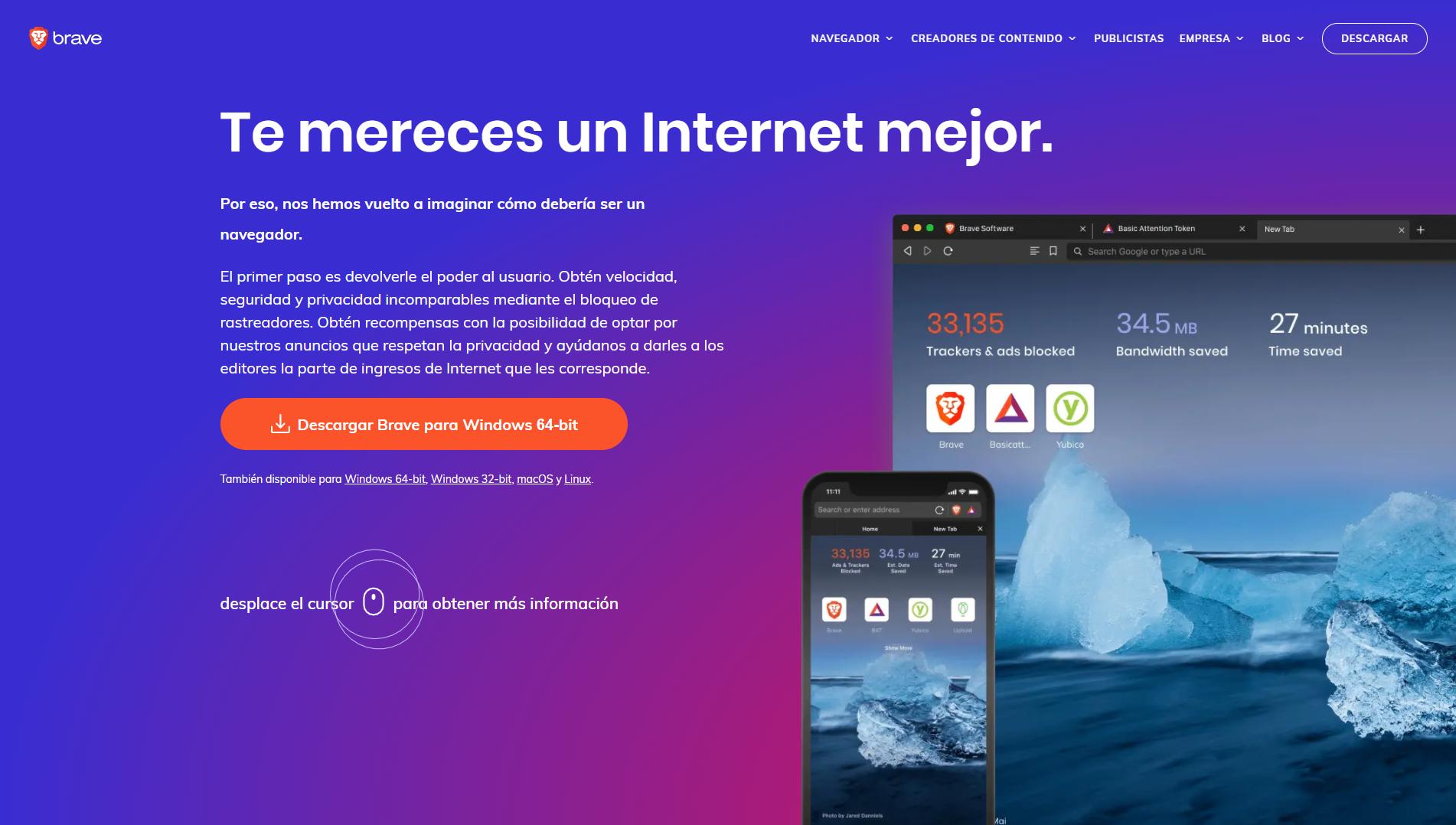 Brave el navegador web que te paga por utilizarlo