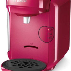 Bosch TAS1401 Tassimo Vivy 2 - Cafetera Multibebidas Automática de Cápsulas, Diseño Compacto, color Fucsia