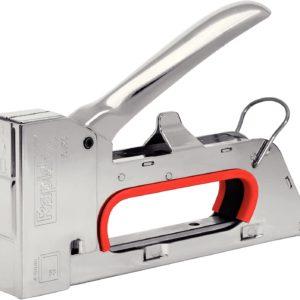 Rapid 20511050 Grapadora Manual, Plateado, Nr. 53 Feindrahtklammern (4-8 mm)